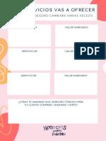 Worksheet Dia 2 - Que servicios ofrecer (1)