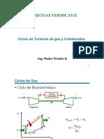 3. ciclo combinado Brayton