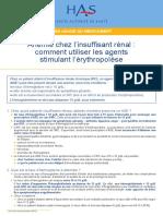 erythropoeitine