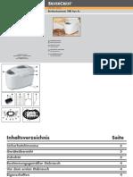SilverCrest SBB 850 1A1 Bread Maker.pdf