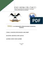 Los instrumentos internacionales de derechos humanos