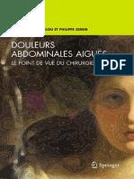 Andre Khoury-Helou, Philippe Zerbib-Douleurs abdominales aigues_ Le point de vue du chirurgien (French Edition) (2009).pdf