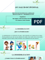 PREVENCION DE RIESGOS LABORALES - RIESGOS FISICOS - DESHIDRATACION