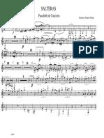 SALTERAS - Bass Clarinet
