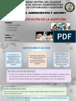 instrumentación de auditoria