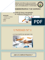 Revisión de bases conceptuales