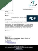 ARCOS DE FULBITO IMPORTADOS PRECIO PROVINCIA CELCON INGENIEROS..pdf