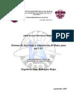 Sistema de Aterrizaje y Adquisición de Datos
