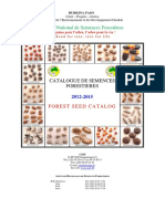 catalogue  de semences