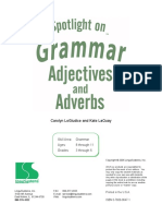 Spotlight Grammar Workbook Adj Adv