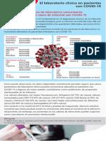 post lab clinico covid 19  español
