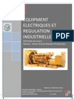 EQUIPMENT ELECTRIQUES ET   REGULATION INDUSTRIELLE 2020