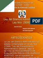 Ley del Silencio Administrativo, Neil Suller Equenda