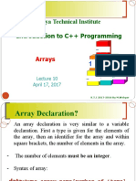 lec 5 23 11 Array