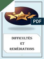 difficultés et rémédiations -1