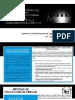 Normatividad COVID 19