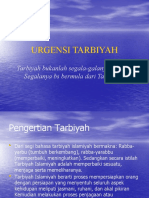 URGENSI TARBIYAH1