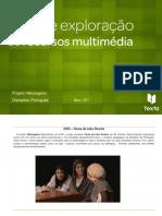 Guia de exploração de recursos multimédia