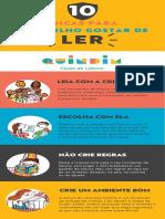 10 dicas para gstar de ler com a criança