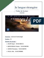 Projet de langue étrangère final