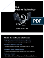 LLVM Clang - Advancing Compiler Technology