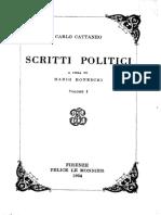 Scritti politici. Volume primo