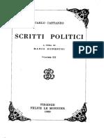 Scritti politici. Volume terzo