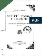 Scritti storici e geografici. Volume primo