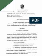 RESOLUÇÃO TRIBUNAL SUPERIOR ELEITORAL REGISTRO DE PESQUISA