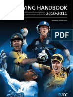 ICC Cricket Playing Handbook 2010/2011