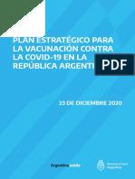Plan Estratégico Vacunación COVID-19