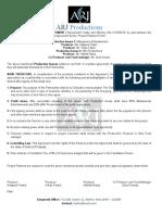 ARJ Productions Agreement 01