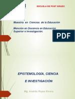 Diapositivas de Epistemología, Ciencia e Investigación Copia 2