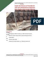 Reconstituição dos Passos na Provisão de Componentes para Dispositivos Explosivos Improvisados