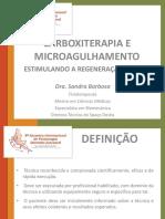 CARBOXITERAPIA E MICROAGULHAMENTO