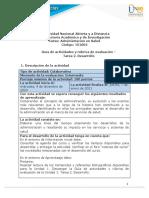 Guía de actividades y rúbrica de evaluación - Unidad 1 - Tarea 2 - Desarrollo (1)