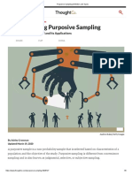 Purposive Sampling Definition and Types