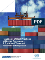 OSCE-UNECE_Handbook of Best Practices at Border Crossings – A Trade and Transport Facilitation Perspective
