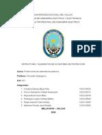 ELEMENTOS Y ESTRUCTURA DE UN SISTEMA DE PROTECCIÓN