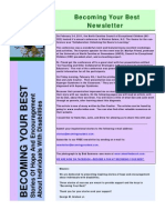 Becoming Your Best Newsletter - February 2011