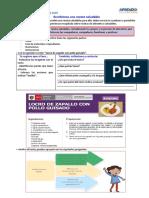 SEMANA 30- DIA 5 - Escribimos una receta saludable - COMUNICACIÓN- VIERNES 30 DE OCTUBRE (1).pdf