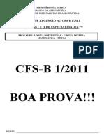 CFS 1-2011