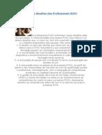 Os cinco desafios dos Profissionais RVCC