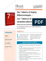 7 Hábitos de la gente altamente efectiva