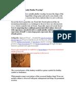 Psychoanalysis of the Ancient Menorah