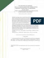 5. Los Delitos de Lesiones. Crítica a La Regulación Del Código Penal Chileno y Bases Para Una Reforma Mauricio Rettig Espinoza