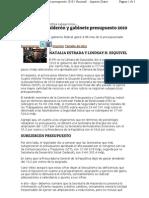 14-02-11 Sobregiran Calderón y gabinete presupuesto 2010