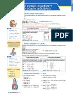 MCD y MCM - Aritmética 1