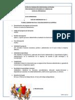 GUIA 5 Teorías administrativas y reconocimiento de empresa