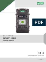 Operating Manual_ALTAIR_5X_PID_10165710_00_FR